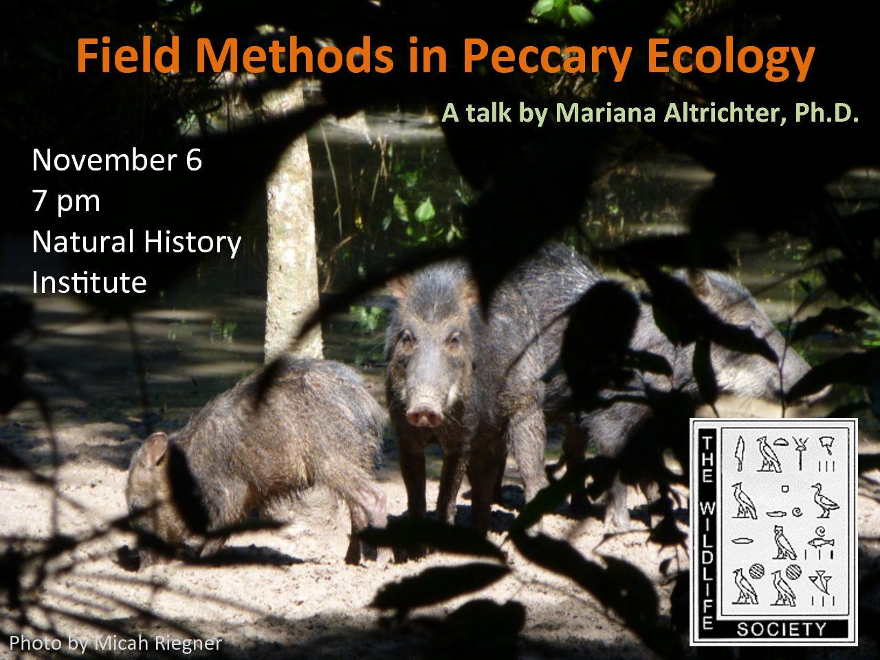 Peccary Ecology